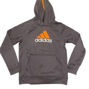 Adidas Gray & Orange Sweatshirt